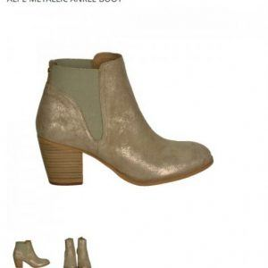 Alpe metallic boot