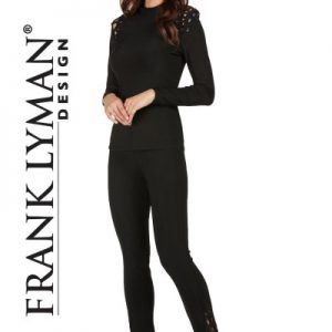 Frank-Lyman-Pant-Style-173014-Black