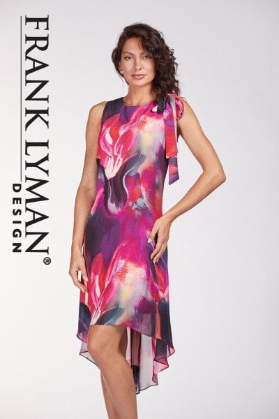 72eeda50d0a NEW Frank Lyman 186560 Floral Print Dress - Beau Boutique